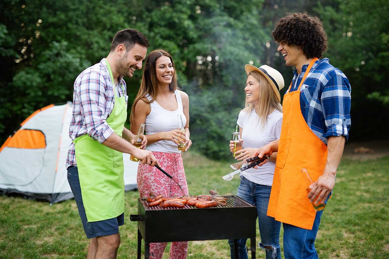 Organizing An Outdoor Grilling Party For The Religious Community